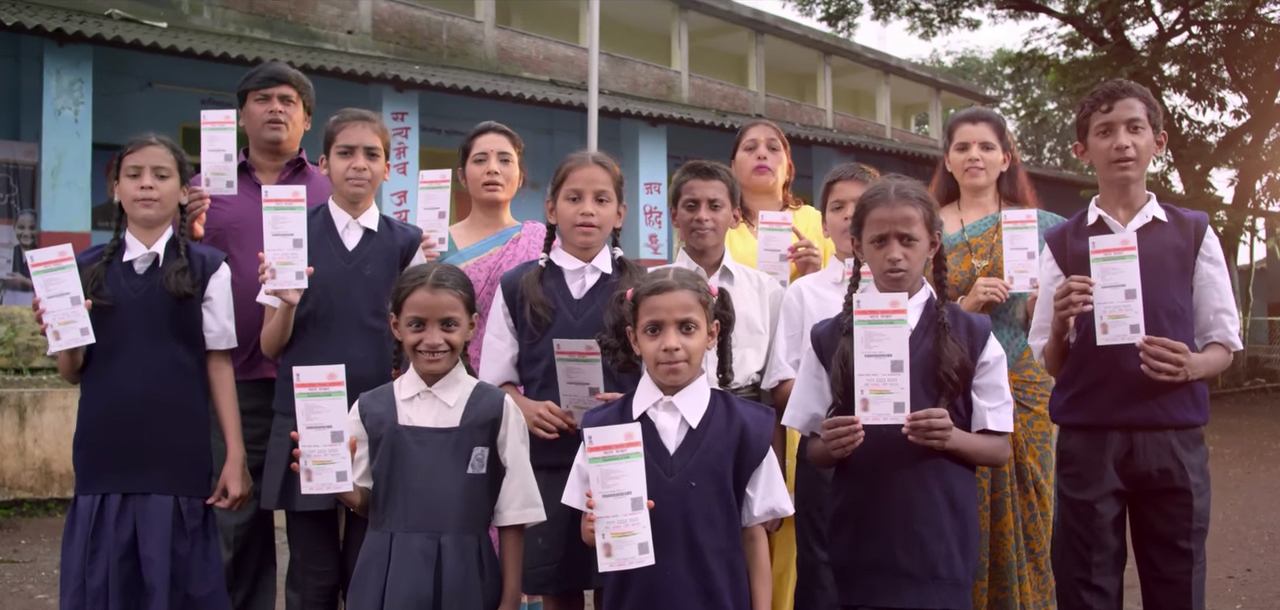 Aadhaar is mandatory for schoolchildren to get mid-day meals from June 30. Photo credit: UIDAI