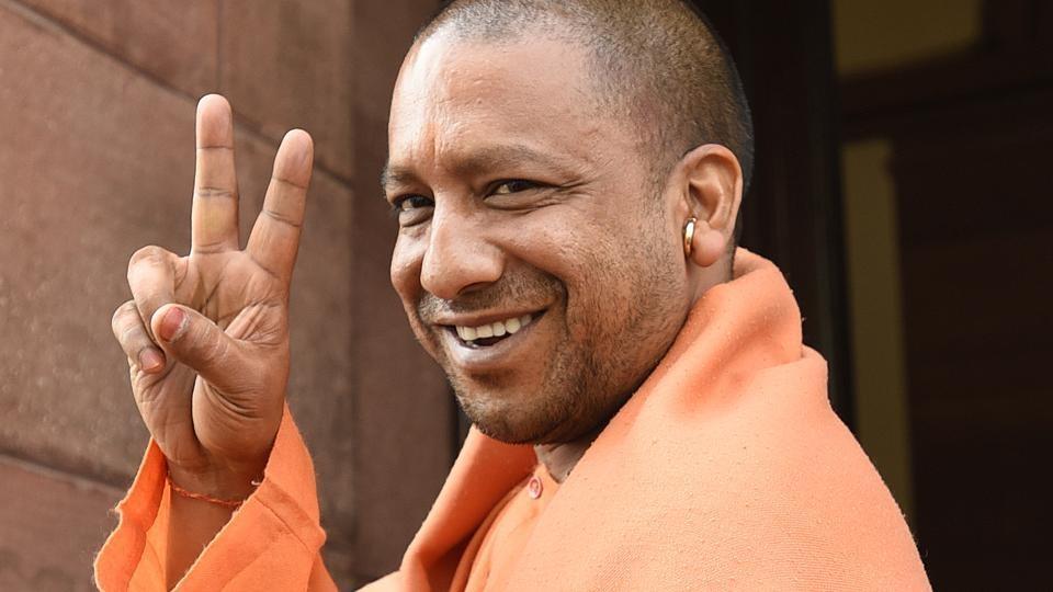 Yogi Adityanath. Image: Hindustan Times