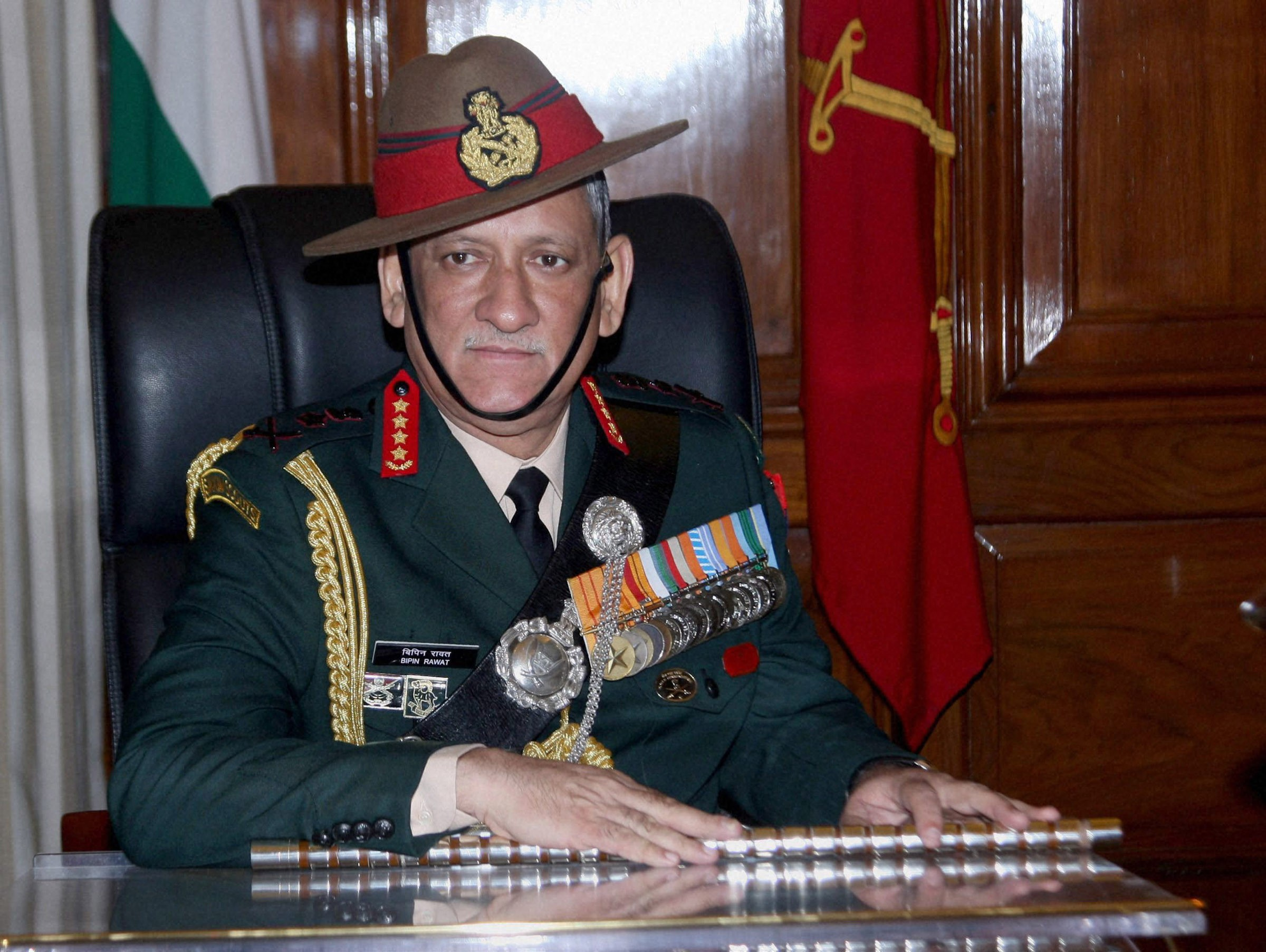 Chief of Army Staff General Bipin Rawat. Image credit: PTI