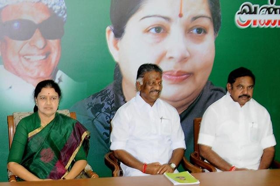 AIADMK committee says will run party, not Sasikala